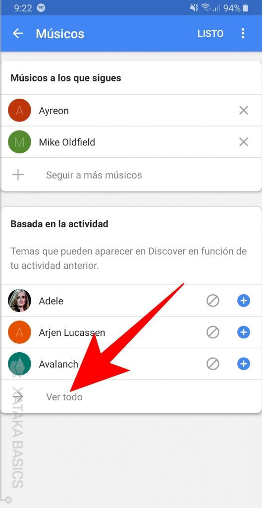 google discovery