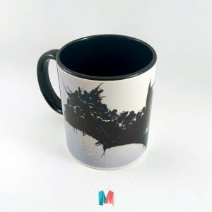 Mug Batman Interior Negro