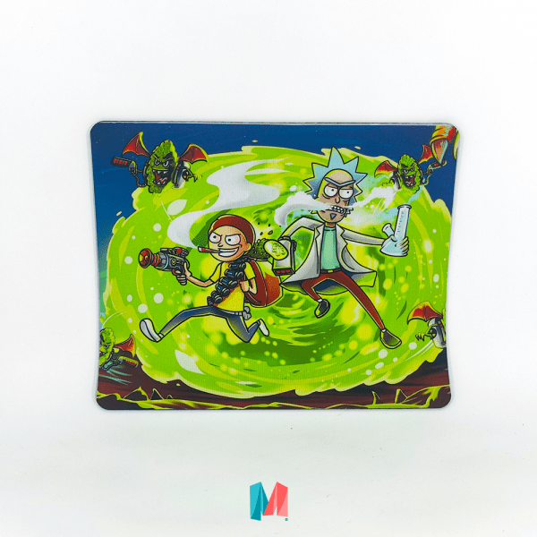 Pad mouse Rick y Morty