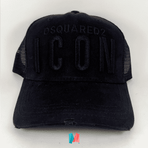 Gorra Dsquared2 Icon negra